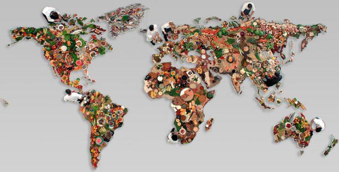 غذاهای مختلف در جهان