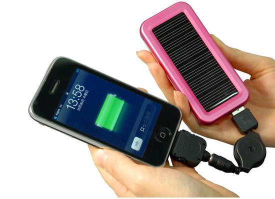 شارژر خورشیدی برای سفر